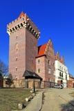 Королевский замок герцога Przemysl II в Poznan, Польше Стоковая Фотография