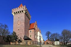 Королевский замок герцога Przemysl II в Poznan, Польше Стоковые Изображения RF