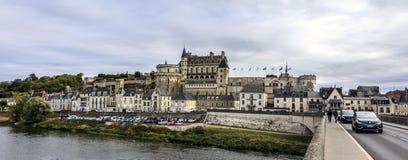 Королевский замок Amboise, Франции стоковые фото