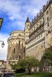 Королевский замок Amboise, Франции стоковая фотография rf