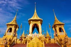 Королевский крематорий короля Bhumibol Adulyadej Его Величество в Бангкоке, Таиланде стоковые фото