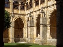 Королевский монастырь - Сан Zoilo стоковая фотография