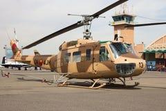 Королевский морокканский вертолет военновоздушной силы UH-1 Huey Стоковое фото RF
