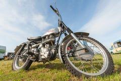 Королевский мотоцикл Enfield Стоковое Изображение