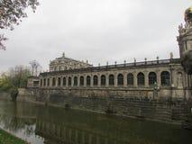 Королевский музей Zwinger замка Дрездена, Германии стоковое изображение