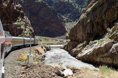 Королевский поезд ущелья Стоковые Изображения RF