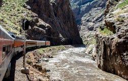 Королевский поезд ущелья Стоковое Изображение RF