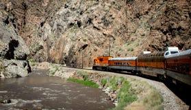 Королевский поезд ущелья Стоковое Фото