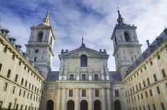 Королевский скит el Escorial. Мадрид, Испания. стоковая фотография