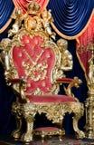 королевский трон Стоковое Фото