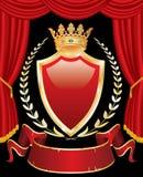 королевский этап иллюстрация вектора