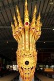 Королевский barge внутри Национальный музей королевских баржей, Бангкок, Таиланд стоковое фото rf