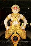 Королевский barge внутри Национальный музей королевских баржей, Бангкок, Таиланд стоковые фотографии rf