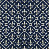 королевское предпосылки голубое Стоковое Изображение