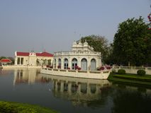Королевское PA челки летнего дворца внутри Стоковые Фото