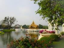 Королевское PA челки летнего дворца внутри Стоковое Изображение RF