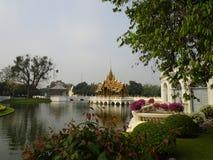 Королевское PA челки летнего дворца внутри Стоковое Изображение