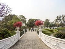 Королевское PA челки летнего дворца внутри Стоковое Фото