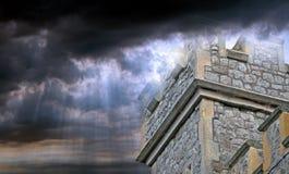 Королевство замка раев Стоковое Изображение RF
