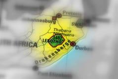 королевство Лесото Стоковое Фото