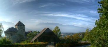 Королевство Лихтенштейна, Вадуц, Европы Стоковая Фотография RF