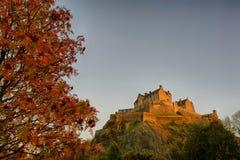 королевство соединенная Шотландия edinburgh замока стоковая фотография rf