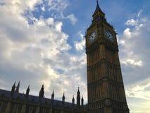 королевство london ben большое соединило El Bigben de Londres, Unido Reino стоковые фото