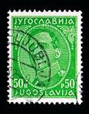 Король Александр (1888-1934), serie, около 1932 Стоковое Изображение