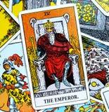 Король Губернатор Босс правителя руководителя силы карточки Tarot императора иллюстрация штока