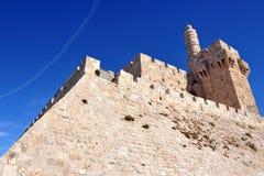 Король Давид Цитадель стоковые изображения