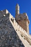 Король Давид Цитадель стоковые изображения rf