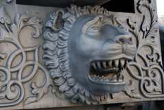 Король Карамболь карамболя царя в Москве Кремле, голове льва Стоковое фото RF