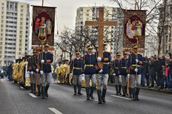 Король Майкл Я Румынии на последней дороге Стоковые Фотографии RF