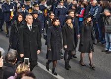 Король Майкл Я Румынии на последней дороге Стоковое Изображение RF