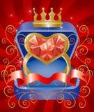король мой Стоковое Изображение