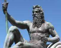 король Нептун Стоковое Изображение RF