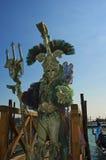 король Нептун venice Стоковое фото RF