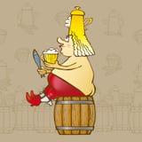 король пива Стоковые Изображения RF