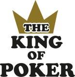 Король покера с кроной бесплатная иллюстрация