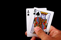 король туза Стоковое Изображение RF