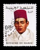 Король Хасан II (1929-1999), serie, около 1968 Стоковые Изображения