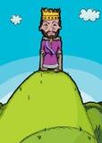 король холма иллюстрация штока
