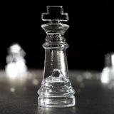 король шахмат Стоковое Изображение RF