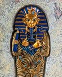 король tutankhamen стоковые фотографии rf