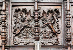 Короля Коллеж Часовня Кембридж Англия Стоковые Фото