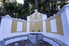 Короля Фонтан Sintra Стоковые Изображения RF