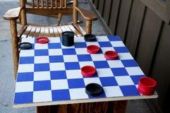 коромысла checkerboard Стоковое Фото