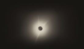 Корона Солнця полного солнечного Eclypse стоковые изображения