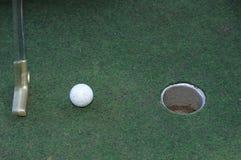 коротка клюшка шарика Стоковая Фотография RF
