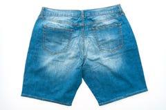 Короткие брюки джинсов стоковое изображение rf